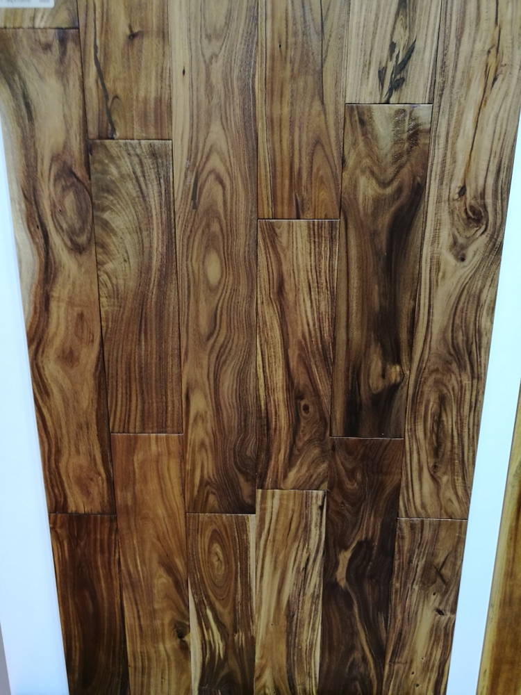 Solid Small Leaf Acacia Wood Flooring Hotel & Home flooring