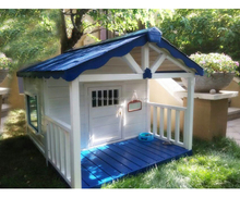 Super Large Pet house, luxury wooden dog house Pet kennel with porch for large dog