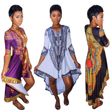 New design clothing traditional african short dashiki dress