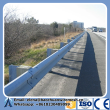 Steel Corrugated W Beam Highway Guardrail/ Crash Barrier