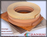 Matt pvc edge banding tape or strip for office furniture trim decoration