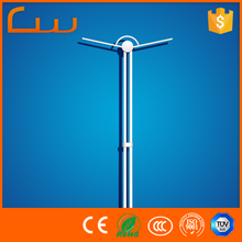 6M high quality outdoor street light pole 54kg weight