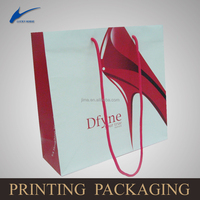 designed paper bag, custom made promotion paper bag,shoe paper bag china wholesale---jm0024