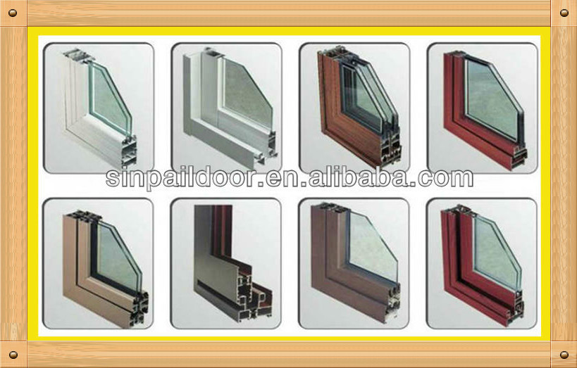 Price aluminium bi folding vertical sliding glass louvers for Section window design