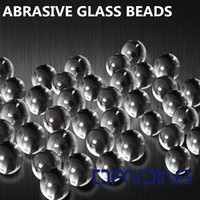Bead Blast Cabinet abrasive Glass Cleaning Powder