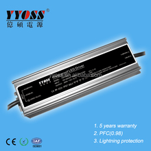 200W 24V 12V DC Waterproof LED Light Driver/Switching Power Supply constant voltage CE ROHS EMC