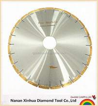 high efficiency and smooth cutting diamond silent saw blade for marble