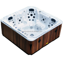 New arrival whirlpool air jets swimming pool JCS-17 with two lounges