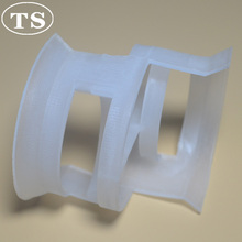 PVC,CPVC,PVDF Plastic random packing Conjugate Ring 50mm,76mm