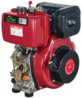 178F diesel engine 5hp/4kw output 296cc displacement with CE certificate
