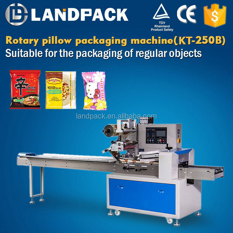 Popular Used Vertical Automatic Food Flow Candy Wrapping Machine With High Accuracy