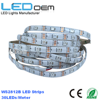 High quality 5M 9W WS2811 5050 addressable rgb led strip