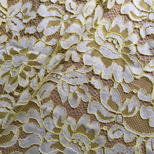 Hot selling african guipure heavy corded lace fabrics ,switzerland bridal bazin lace fabrics guipure
