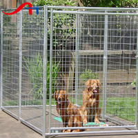 2016 Anping cheap welded wire dog kennels / Chain link wire dog fence / dog run fence panels