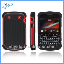 Luxury Basketball Texture Phone Case For Blackberry 9900 PC + Silicone Case For Blackberry 9900
