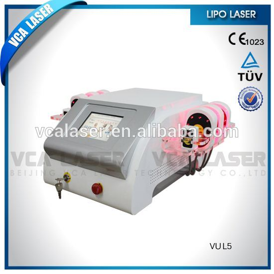 lipolysis 635nm lipo cold laser slimming machine