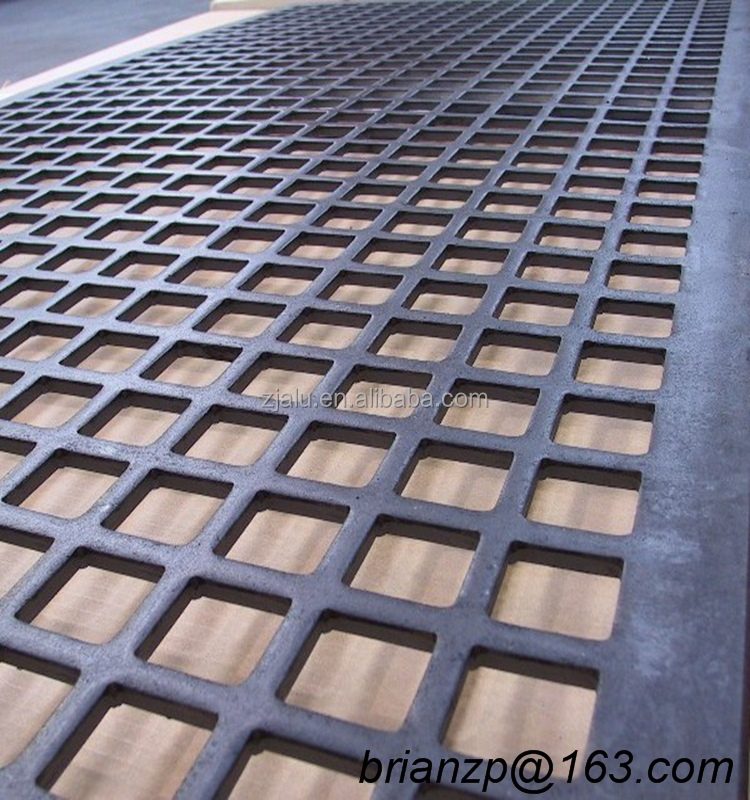 square hole metal corrugated and perforated plate