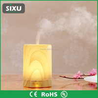 Oil humidifier ultrasonic aromatherapy diffusers electric fragrance lamp