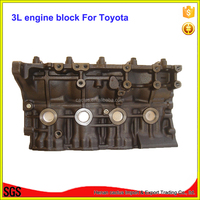 Car parts 3L engine cylinder block For toyota Hilux 4-Runner Hi-Ace