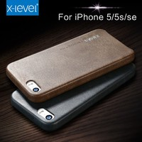 Top Quality Leather Phone Cases for Iphone 5s Cover Case