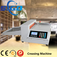 SG-328 semi automatic die cutting creasing machine