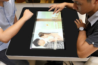 EKAA indoor interactive multi touch screen table for restaurant mall