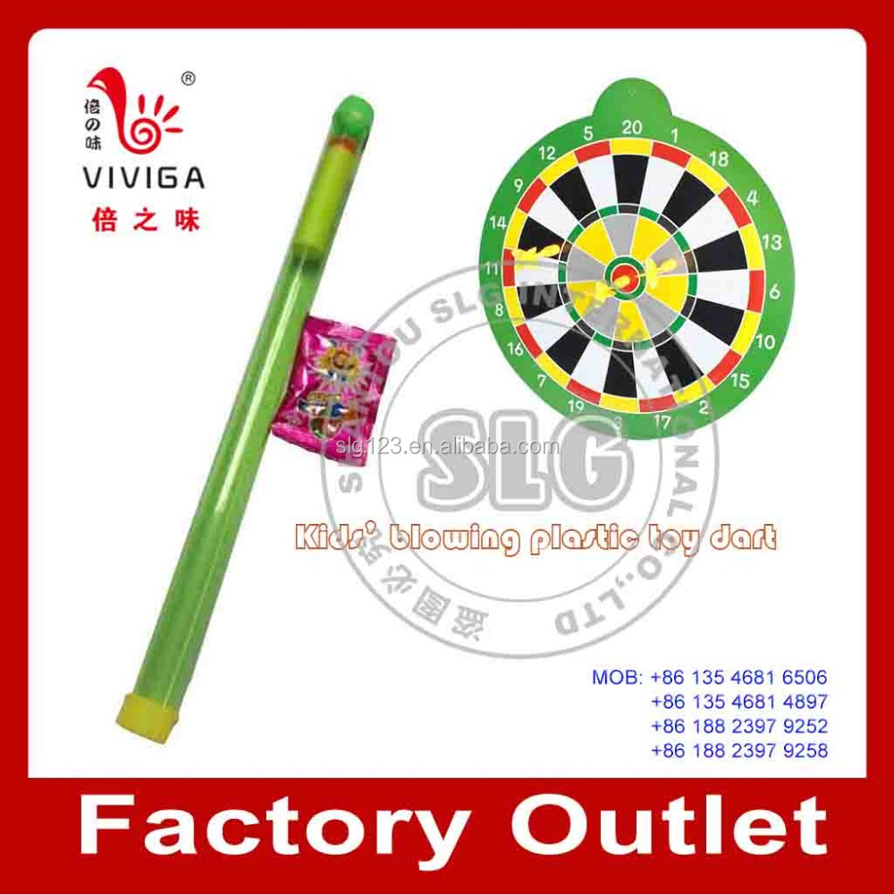 Dart Toy with Popping Candy