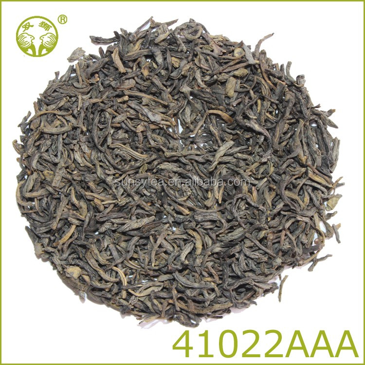 China popular royal green tea 41022AAA best green tea quality