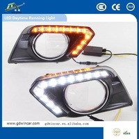 Abs Plastic High Power Super Bright Drl Led For Nissa n x-Trail Auto Spare Parts Drl Light 2014 - 2015
