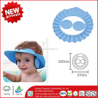 Hot Sale Wholesale Baby Shampoo Hat Ear Shower Cap