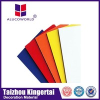 Alucoworld decorative vinyl siding panel acm sheet lightweight exterior wall panels