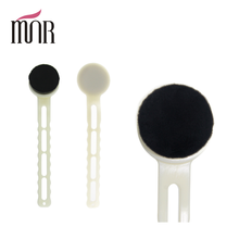 Longer high quality plastic handle washing face brush facial cleaning makeup brush