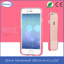 For Iphone 6 Fancy Flash Light Up LED Back cell phone Cover case, TPU PC Case for iphone 6 LED cases