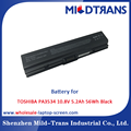 Top Rechargeable Laptop Battery Supplier for TOSHIBA PA3534 10.8V 5.2Ah 56Wh Black