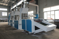 Hard hosiery cotton fabric waste recycling machine
