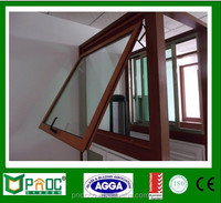 Aluminium Window And Top Hung Window With (5-9A-5) Double Tempered Glass