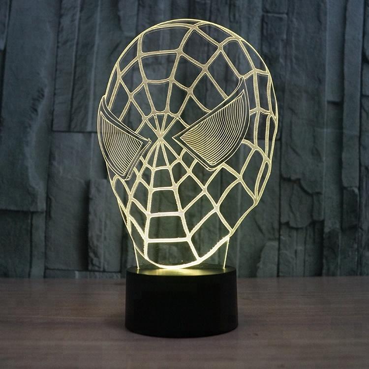 3d Effect Led Night Light Acrylic Lamp Valentine Day <strong>Gift</strong>
