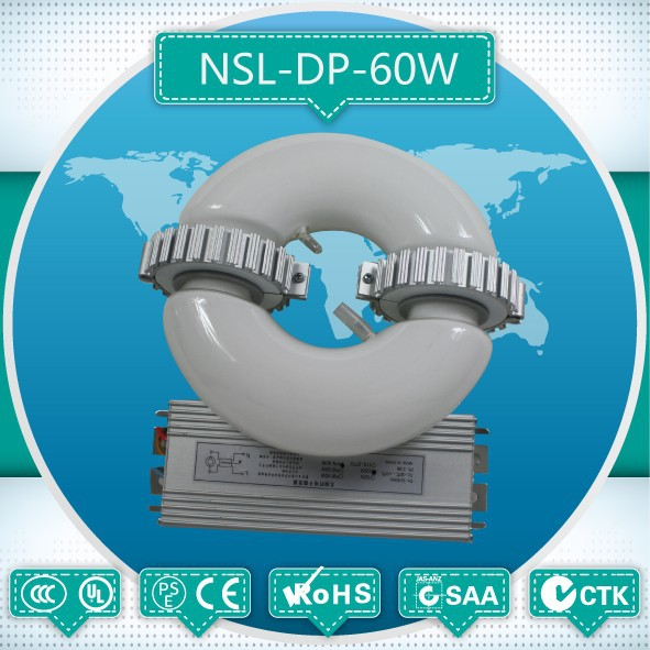 <strong>100</strong>,000 Hours Life Span Easy to Install energy saving lvd induction lamp