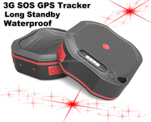 3G GPS Tracker Kids Elder Pets Vehicle Small Mini Portable Waterproof Geo fence sos alarm mobile free app gps location