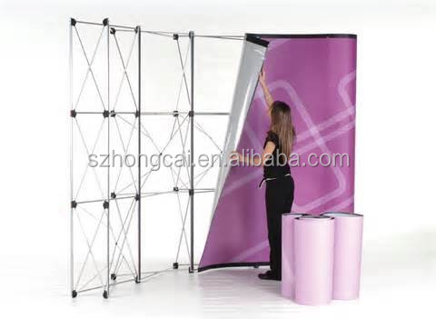 Tradeshow pop up stand display banner