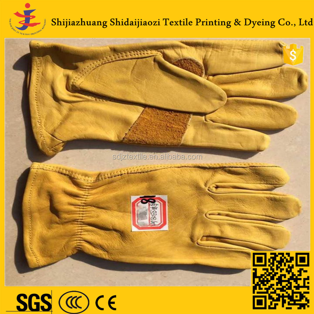 Wholesale winter glove buffalo leather work gloves