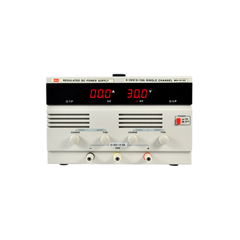 DC Power Supply, 0-30V/0-10A, Linear Continuous adjustable MCH-3010D
