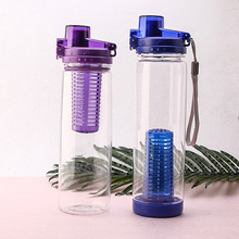 wholesale tritan eastman plastic fruit insued water bottle uk for kids