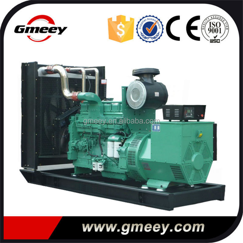 Gmeey manufacture USA engine KTA19-G3 450kva diesel generator set price