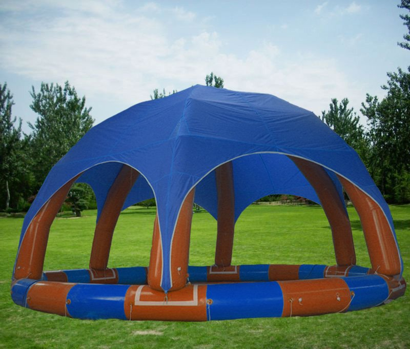 2011 Hot-selling inflatable swimming pool (YCD-001 6X6m)