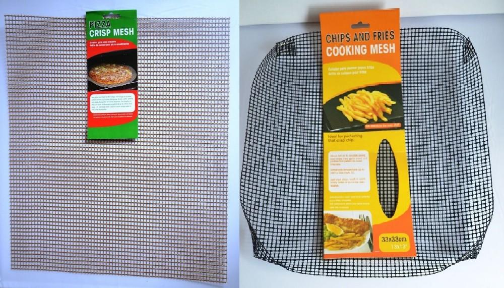 2 non stick oven baking tray crispy chip mesh grill pan sheet basket 35 35cm buy chip fryer. Black Bedroom Furniture Sets. Home Design Ideas
