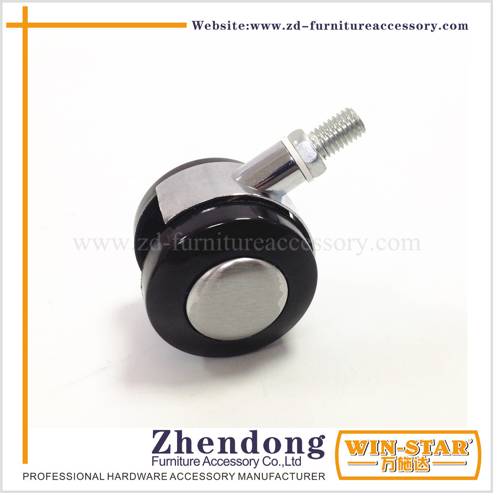 wholesale 2 inch furniture fixed caster wheel without brake