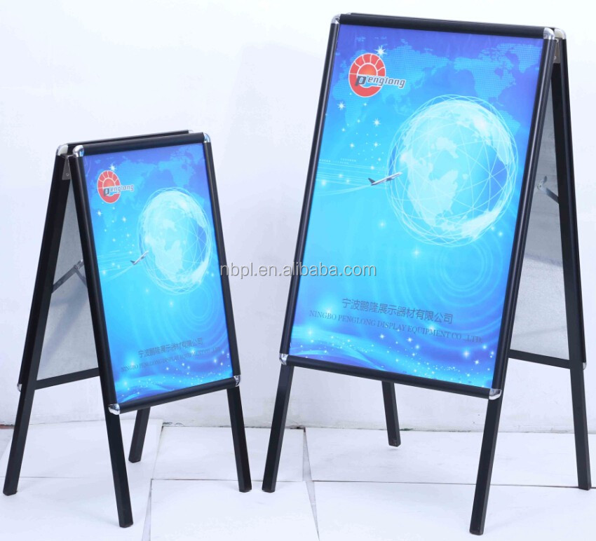 floor stand poster display board a1 double side a board