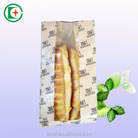 best price china supplier bread packaging paper bag with window