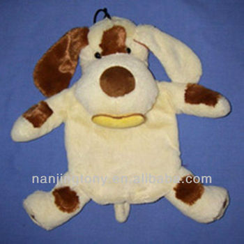 2000ml hot water bottle with cute dog cover